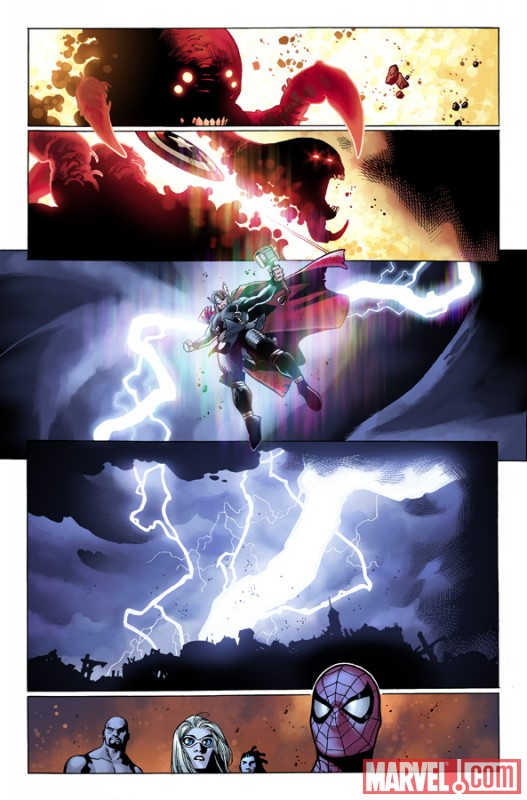 A page from SIEGE #4 by Olivier Coipel