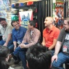 Tom Brevoort, Nick Lowe, Mark Paniccia, Axel Alonso and C.B. Cebulski answering questions at Midtown Comics' Meet the Publishers