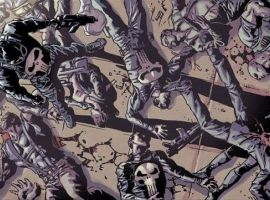 The Punisher: No Mercy art by Mike Deodato