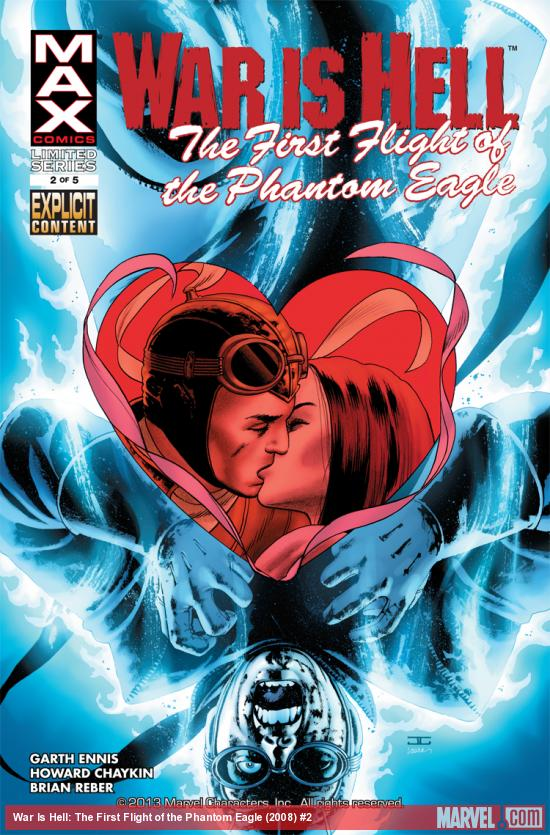 Cover from: War Is Hell: The First Flight of the Phantom Eagle (2008) #2