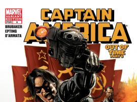 Cover: Captain America (2004) #6 of 6 - Out of Time