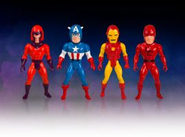 Marvel Secret Wars Micro Bobbles from Gentle Giant