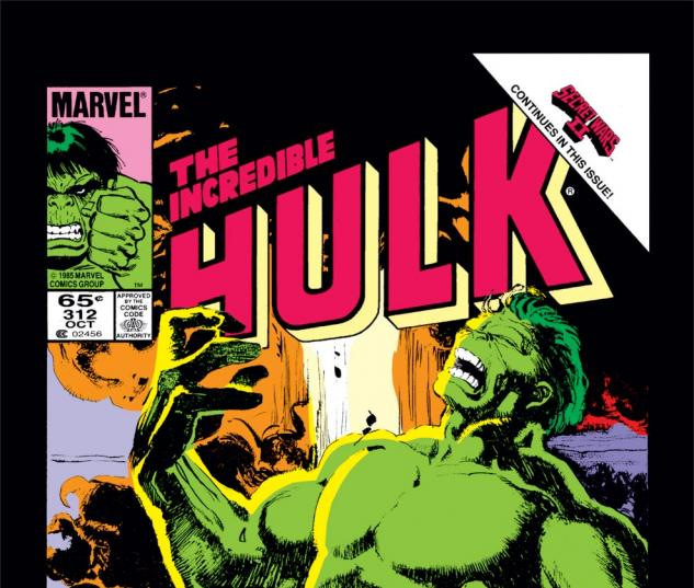 Incredible Hulk (1962) #312 Cover