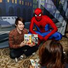 Marvel Universe Helps Promote Children's Literacy