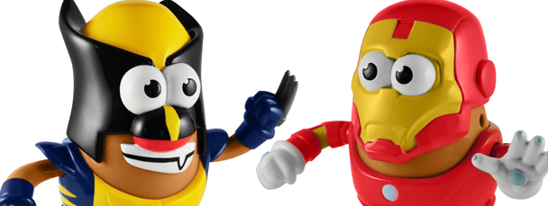 Marvel and Hasbro Launch Mr. Potato Head Line