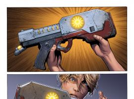 Guardians of the Galaxy #0.1 preview art by Steve McNiven