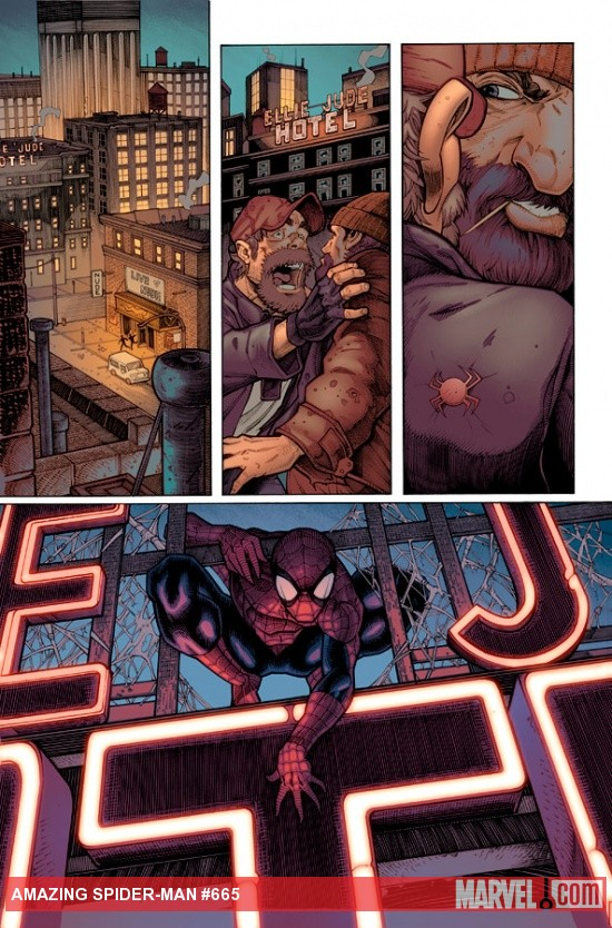 Amazing Spider-Man #665 preview art by Ryan Stegman