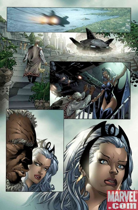X-MEN: WORLDS APART #1 preview art