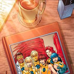 NEW X-MEN: ACADEMY X YEARBOOK SPECIAL (1995) #1 COVER