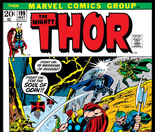 Thor (1966) #199 Cover