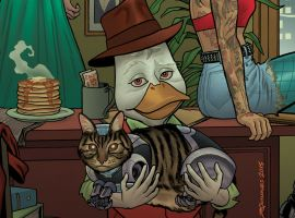 Howard the Duck #1 cover by Joe Quinones