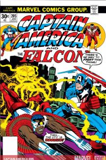Captain America #205