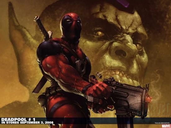 Deadpool (1993) #1 Wallpaper