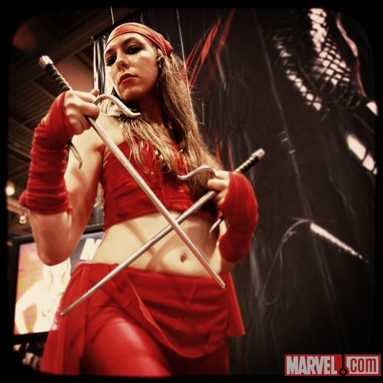 FanExpo 2011: Elektra Cosplayer