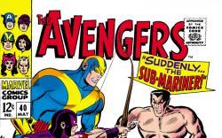 Avengers (1963) #40 cover