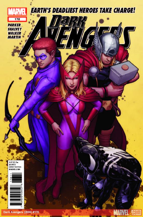 DARK AVENGERS 178