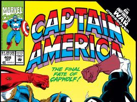 Captain America (1968) #408 Cover
