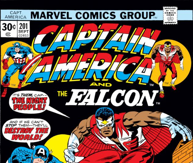 Captain America (1968) #201 Cover