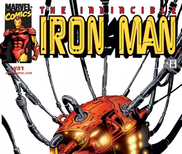 Iron Man (1998) #31 Cover