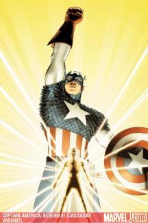 Captain America: Reborn (2009) #1 (CASSADAY VARIANT)
