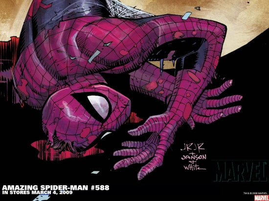 Amazing Spider-Man (1999) #588 Wallpaper