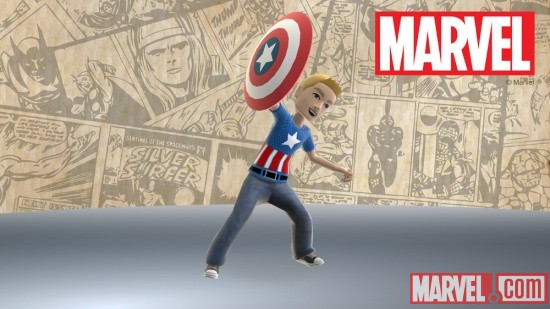 Captain America gear for Xbox avatars
