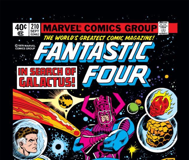 Fantastic Four (1961) #210 Cover