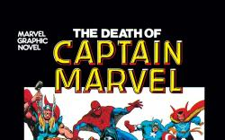 Marvel Graphic Novel 1: The Death of Captain Marvel (0000) #1 Cover