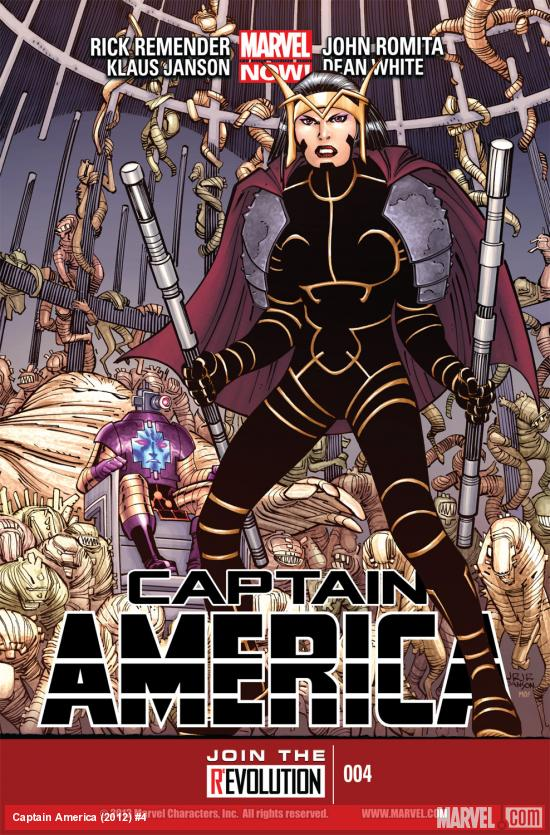 Captain America (2012) #4 Cover