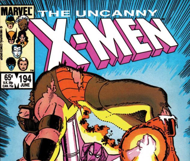 Uncanny X-Men (1963) #194 Cover