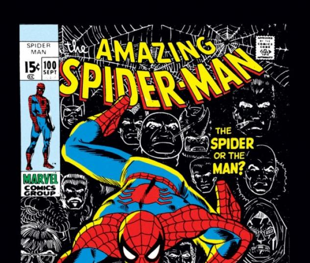 AMAZING SPIDER-MAN #100 COVER