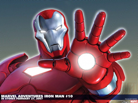 Marvel Adventures Iron Man (2007) #10 Wallpaper