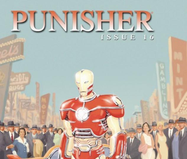 Punisher (2008) #16 (IRON MAN BY DESIGN VARIANT)