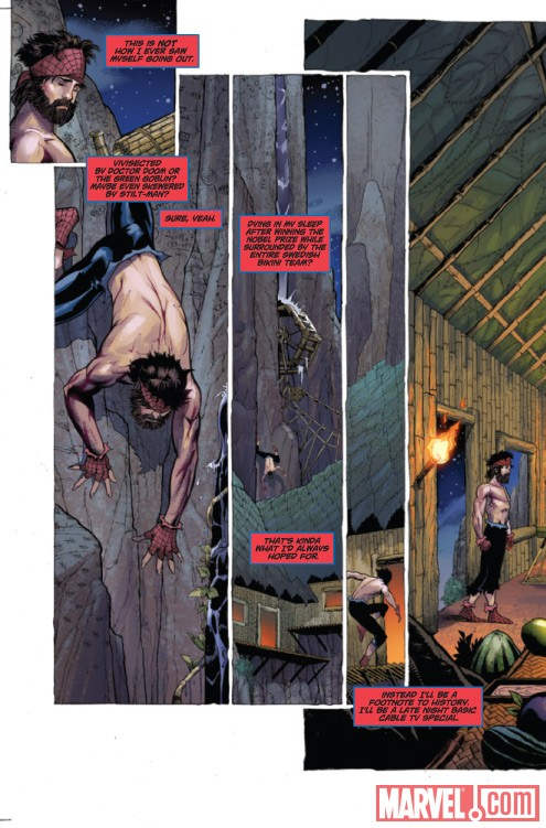 ASTONISHING SPIDER-MAN/WOLVERINE #1 preview art by Adam Kubert