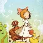 Ozma of Oz #1 cover by Skottie Young