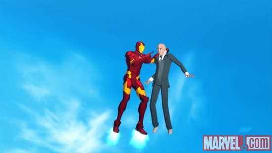 Screenshot from Iron Man: Armored Adventures Season 2, Episode 13
