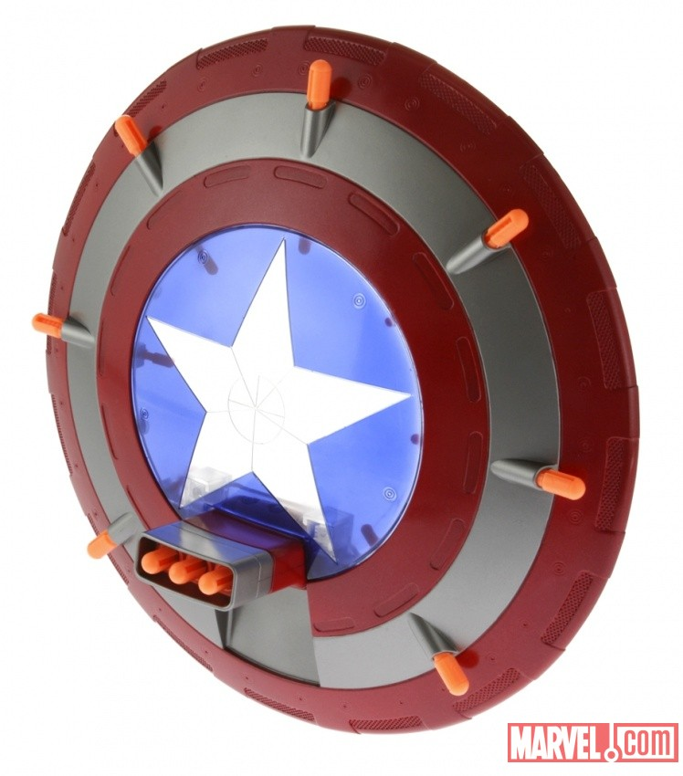 Marvel Avengers Captain America Triple Blast Shield