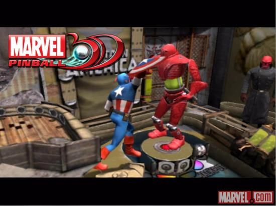 Marvel Pinball 3D Coming to the Nintendo 3DS