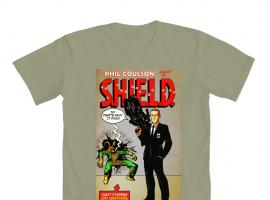 Phil Coulson: Agent of S.H.I.E.L.D. t-shirt by Mighty Fine