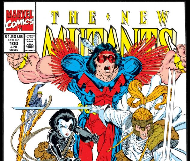 New Mutants (1983) #100 Cover