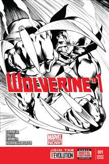 Wolverine (2013) #1 (Davis Sketch Variant)