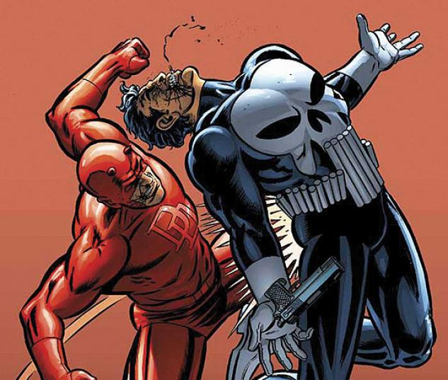 DAREDEVIL VS. PUNISHER (2007) #4 COVER