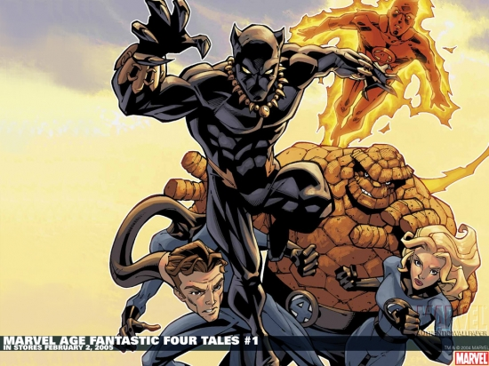 Marvel Age Fantastic Four Tales (2005) #1 Wallpaper