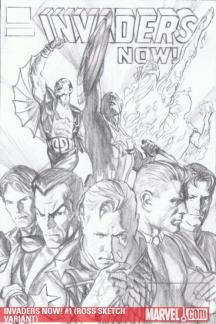 Invaders Now! #1  (ROSS SKETCH VARIANT)