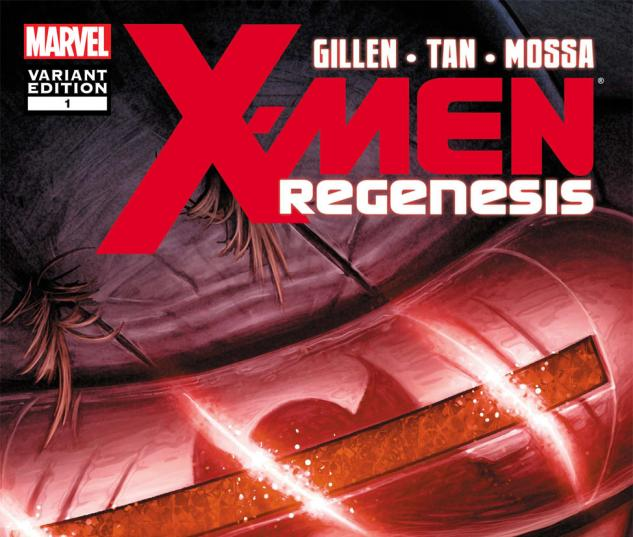 X-Men: Regenesis (2011) #1, Hollowell Variant cover