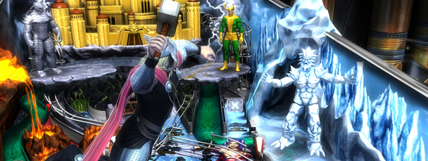 Thor Joins Marvel Pinball