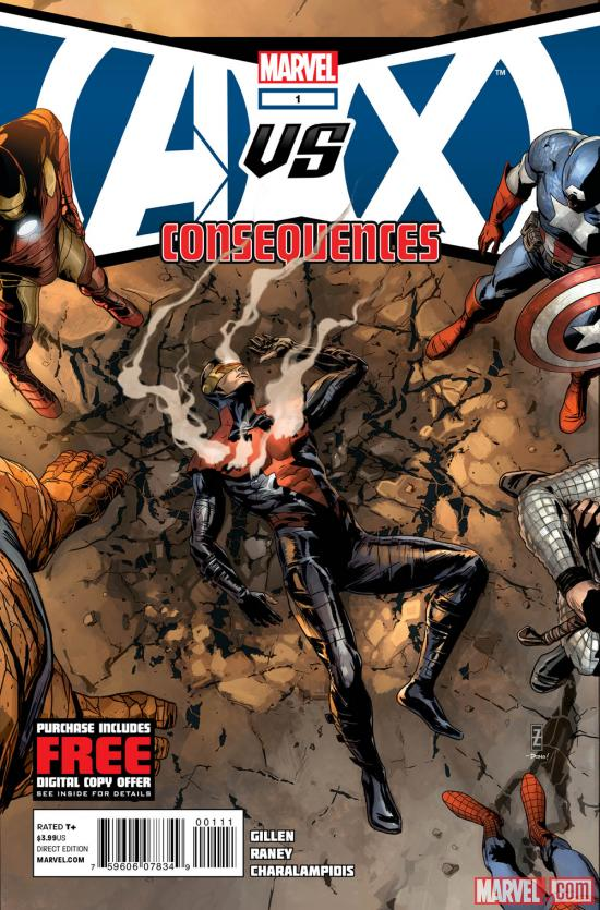 AvX: Consequences #1 cover by Patrick Zircher