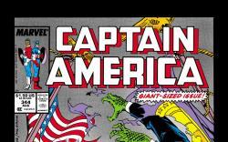 Captain America (1968) #344 Cover