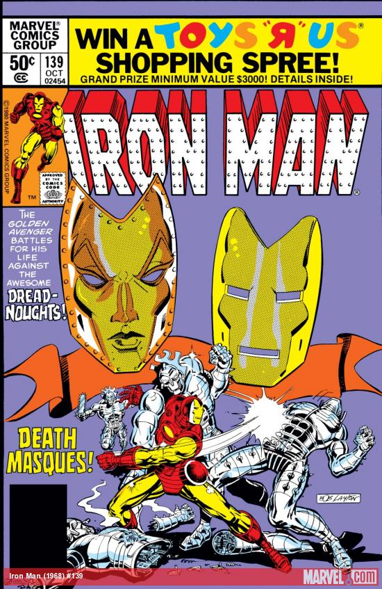 Iron Man (1968) #139 Cover