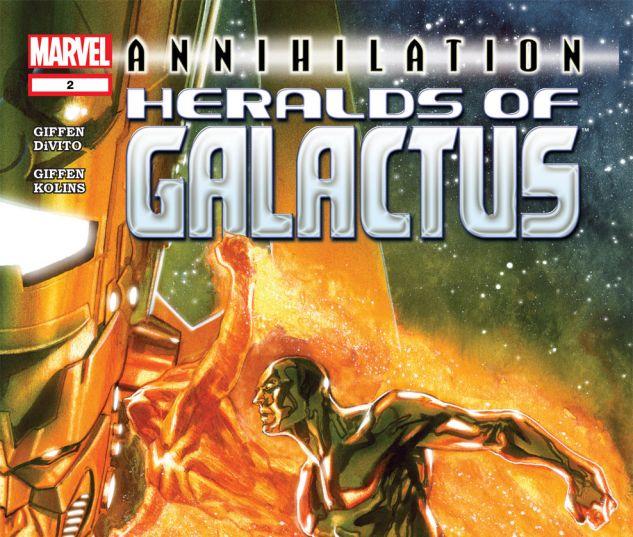 Annihilation: Heralds of Galactus (2007) #2